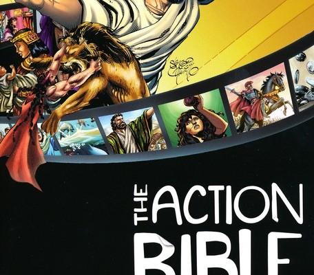 Comic book bible boys will read