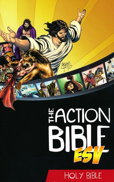 Comic book bible boys will read
